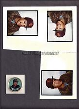 Carmelo Martinez Padres 1988 Topps Coin Original Match Print Photo 8x10 Vault