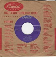 """Gene Vincent """"Lotta Lovin"""" & """"Wear My Ring"""" 1957 Capitol 3763 Rockabilly Killers"""