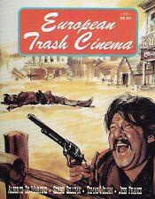 EUROPEAN TRASH CINEMA NUMBER 11 1995 JESS FRANCO TOMAS MILIAN SERGIO SOLLIMA