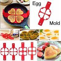 Pancake Flipper Nonstick Pancake Maker Egg Ring Maker Kitchen Perfect Easy U3E6