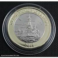 2015 Royal Navy £2 Two Pound Coin Brilliant Uncirculated – Royal Mint – 'RARE'