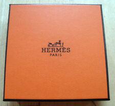 Original Hermès box boite carton NEUF 8,5 x 8,5 x 6,9 cm NEUF!!!