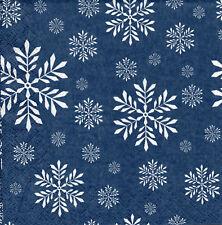 4 lose Servietten Motivservietten Weihnachten Schneeflocken Sterne (1427)