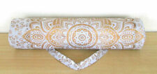 New listing Indian Beach Yoga Bag Fitness Mat Strap Cotton Pouch Fitiness Bag