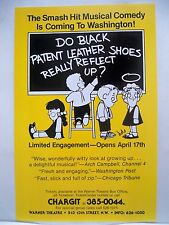 DO BLACK PATENT LEATHER SHOES REALLY REFLECT UP Herald WARNER THEATRE DC