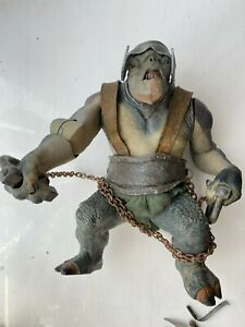 LORD OF THE RINGS ARMORED TROLL ACTION FIGURE TOY BIZ TWO TOWERS SERIES