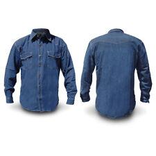 Camicia Jeans Uomo SKY Regular Denim Taglie Assortite da M a 5XL - 39 / 52 DD