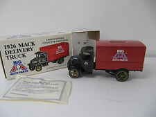 Ertl  Big A Auto Parts  1926 Mack Delivery Truck  Coin Bank # 9094UA  NEW IN BOX