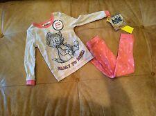 NWT Disney Artist Collection Aristocat Long Sleeve Pajamas Toddler Girls size 2T