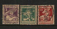 Switzerland   B4-6   used     catalog  $124.00