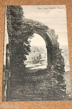 Vintage Postcard: View from Winfield Manor, Derbyshire
