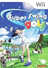 SUPER SWING GOLF WII NEW! HOT SHOTS FORE FAMILY PARTY GAME NIGHT! FANTASY COURSE
