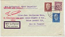 Germany, 1932 8th So. America Flight to Rio very pretty