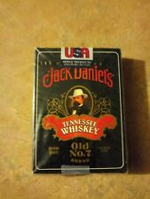 Jack Daniels 6633 Hoyle Brand Poker Size Playing Cards Old No.7