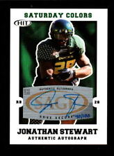 2007 SATURDAY COLORS JONATHAN STEWART DUCKS AUTO 40/100
