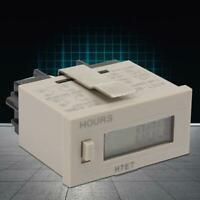 Contact Closure 24-240VAC//6-240VDC Input Gate Omron H7ET-FBV Time Counter