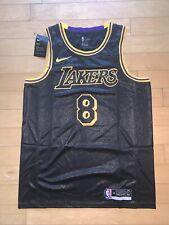 New Mens Kobe Bryant 8#24 Los Angeles Lakers Black Mamba Day City Edition Jersey