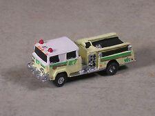 N Scale Lime Green & White Pierce Fire Pumper