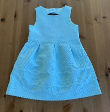 Janie & Jack Girls 2T Aqua Blue Dress 2017