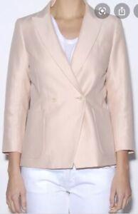 Steven Alan Blush Two Button Elinore Jacket - Pink $495 Women's Size 8