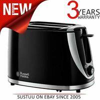 Russell Hobb 21410 Modus 2 Scheiben Toaster mit Abtau │ Nacherwärmung Funktion│
