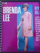 for the Brenda Lee – Bye Bye Blues I'm SORRY Fan / Album Cover Notebook /rare !!