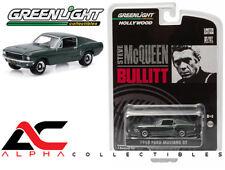 """GREENLIGHT 44721 1:64 1968 FORD MUSTANG GT FASTBACK """"BULLITT"""" STEVE MCQUEEN"""