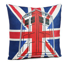 Licensed Doctor Who TARDIS Union Jack Pillow **Brand New** EXPRESS SHIPPING