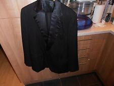 Vintage célèbre sam's tailleur de hongkong cravate noire sur mesure robe de soirée costume C40 W36
