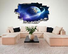 Weltall Space Weltraum All Erde Planet Wandtattoo XXL Wandsticker Aufkleber C216