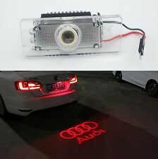 CANBUS Red Car LED License Plate Projection Laser Lamp for Audi A4 A6 Q3 Q5 S6
