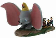 Disney Enchanting Take Flight Dumbo Timothy Jim Crow Brothers Figure 20cm A28729