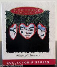 Hallmark Keepsake ~ 1993 Heart Of Christmas ~ Ornament New In Box Qx4482