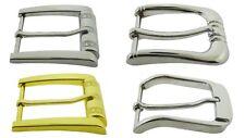 """40 Piece Pin Belt Buckle Lot Wholesale Silver Metal Men Women 1 1/2"""" (40 mm) New"""
