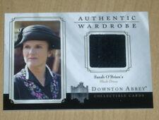 2014 Cryptozoic Downton Abbey wardrobe trading card Sarah O'Brien's DRESS W02