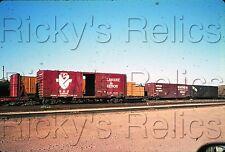Original Slide D&H #19249 Boxcar Delaware & Hudson Tucson, AZ SOU RR 1973