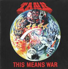 "TANK : ""This Means War"" (RARE CD)"