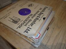 """Job Lot 30 x 78 rpm CLASSICAL 10"""" GRAMOPHONE RECORDS  Listed & Graded EX Card"""