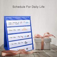 Tabletop Desktop Pocket Chart Table Top With Bonus 20X Dry Erase Cards,Deskt W91
