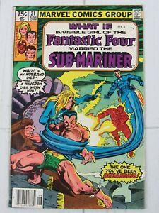 What If...? #21 June 1980 Marvel Comics Fantastic Four
