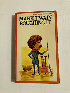 Roughing It by Mark Twain (1962, Paperback) Signet Classic USA literature VTG