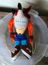 "2005 Vintage Kellytoy Crash Bandicoot Collectible 12"" Plush Doll - New"