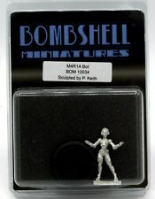 Bombshell BOM10034 M4R1A Bot (Babes) Female Robot Mechanical Assistant Hero NIB