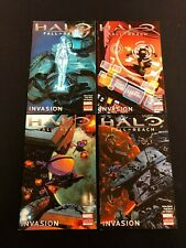 Halo - Fall of Reach - Invasion # 1,2,3,4 - Marvel Comics