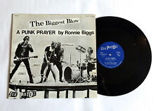 SEX PISTOLS The Biggest Blow JAPAN VINYL 12 inch SIngle YB-7003 Ronnie Biggs Sid