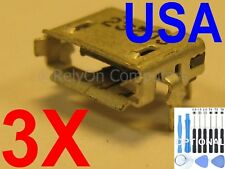 3x OEM Type Micro USB Charging Port For Toshiba Excite 10 SE AT300SE AT305SE USA