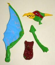 1993 Teenage Mutant Ninja Turtles Tubular Pterodactyl Parts Lot