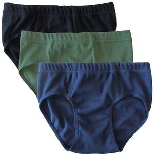 HERMKO 2850 3er Pack Jungen Slip 100% Baumwolle Unterhose verschiedene Farben