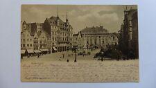 Bonn, Marktplatz, Posted 1899 To Paris, Antique Postcard.