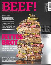 BEEF! Fettes Brot Nr. 35 Ausgabe 5/ 2016 Neuwertig